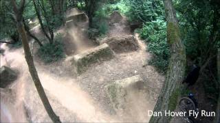 Fairfield & Balton Dirt jumps with  Mountain Bikes and BMX