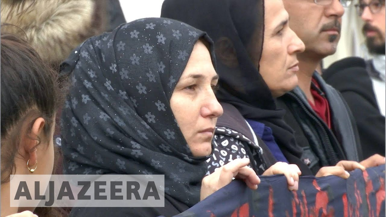 Refugees in Europe condemn 'slow' family reunion process