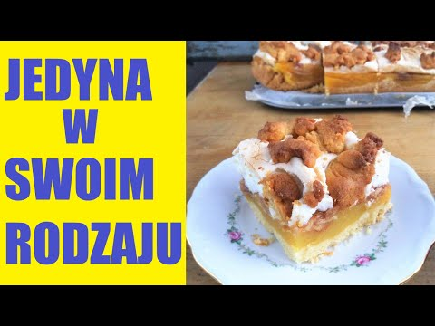 "Szarlotka Słoneczna z budyniem i bezą (film) / Apple Pudding Shortcake 'Sharlotka"" (video recipe)"
