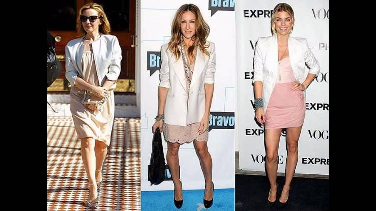 Como vestir con un saco mujer