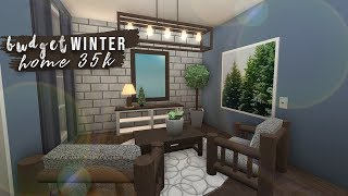 Roblox | Bloxburg: Budget Winter Home (no advanced placement) | Speedbuild