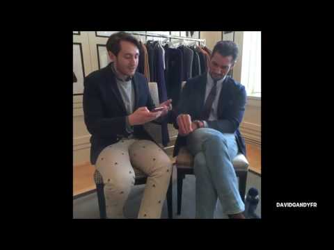 David Gandy's live interview with British GQ (14/10/2016)