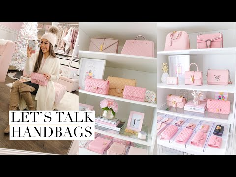 ALL MY HANDBAGS!👛COLLECTION AND WHATS IN MY BAG? VLOG 03