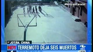 Terremoto  de 6,4 grados  en  Xinjiang, China  /  3  de Julio  2015