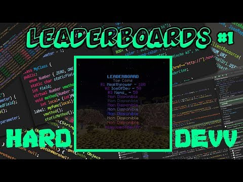 HARD DEV | new LeaderBoard(new Ice(Spigot.class) plugin) #1