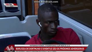 A viagem do SL Benfica até aos EUA