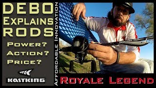 KastKing Royale Legend Rods Action Power and Features Explained Presented by DEBO 39 s Fishing