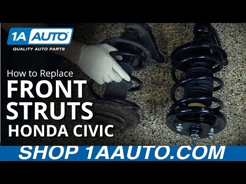 How to Replace Strut & Spring Assembly 02-05 Honda Civic