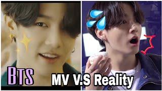 Bts Dynamite MV V.S Reality