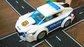 Полицейская Машина игрушки Лего сити 60239 Распаковка Видео для детей про машинки