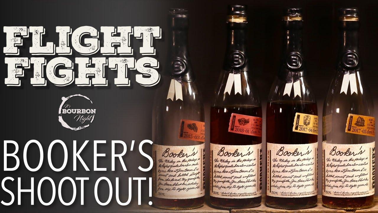 Booker's Bourbon Blind Flight Fight!