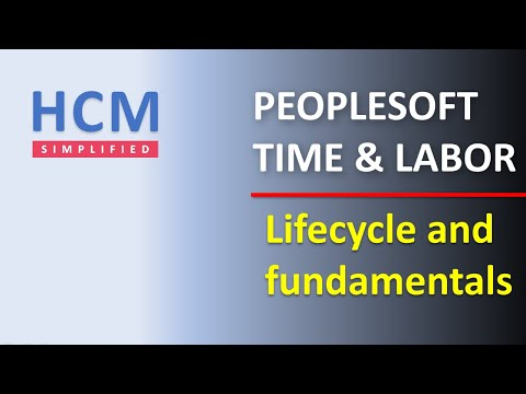 Process Overview and Fundamentals | Part 1 | PeopleSoft Time and Labor