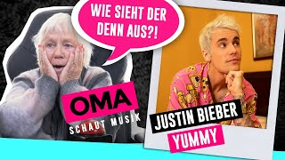 Cover images Oma schaut Musik - Justin Bieber (Yummy)