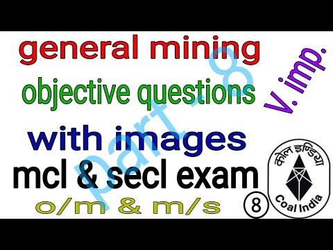 #miningexam Objective general mining questions with details | overman, sirdar | mining mcq  | part 8