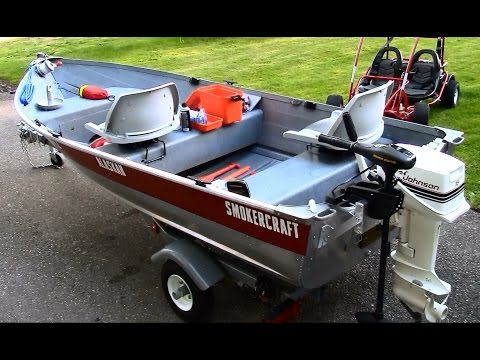 12 Ft Aluminum Fishing Boat Restoration, Customization And Setup In HD