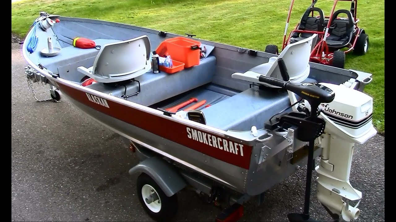 12 Ft Aluminum Fishing Boat Restoration Customization And Setup In HD