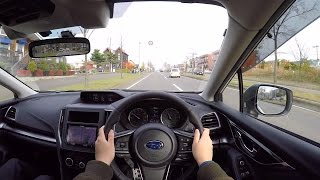 【Test Drive】2016/2017 New SUBARU IMPREZA SPORT 2.0i-S EyeSight - POV City Drive