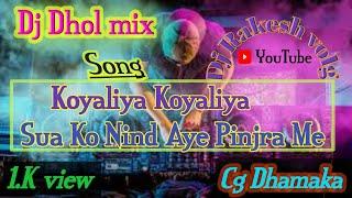 Koyaliya Koyaliya  Dj dhol remix _DjRakesh volg | Cg Dj song