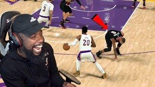I Broke Damian Lillard's Ankles! Lakers vs Blazers Playoff Game 5! NBA 2K20 Ep 32