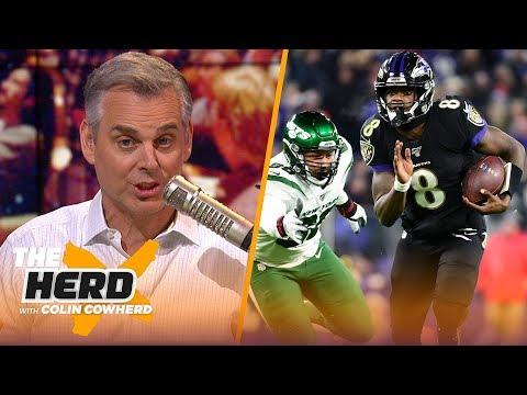 Blazin' 5: Colin's Picks For 2019-2020 NFL Week 16 | NFL | THE HERD