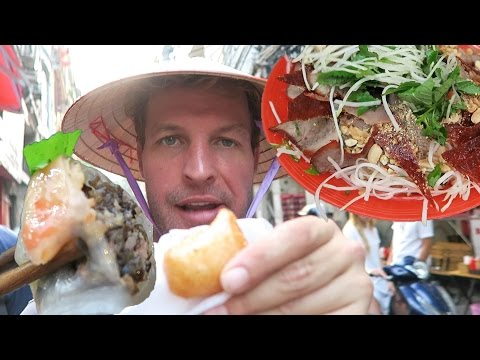 THE MOST AMAZING VIETNAMESE FOOD TOUR IN HANOI - VIETNAM