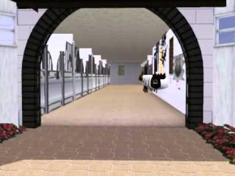 Sims3 Stall Mit Halle Und Mega Haus 08 10 2014 Gebaut