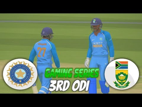 INDIA vs SOUTH AFRICA 2018 3RD ODI - ASHES CRICKET 17 (GAMING SERIES)