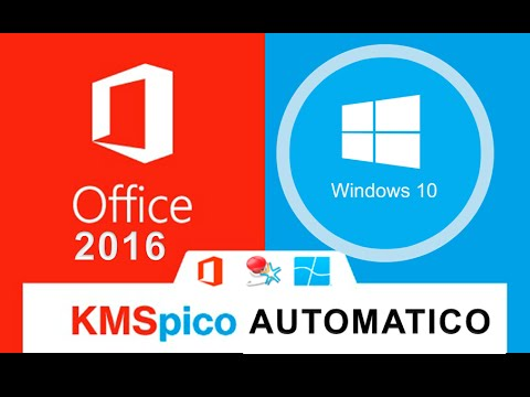 Activar Windows 10 Y Office 2016 Con Kms Pico Link Mega Youtube