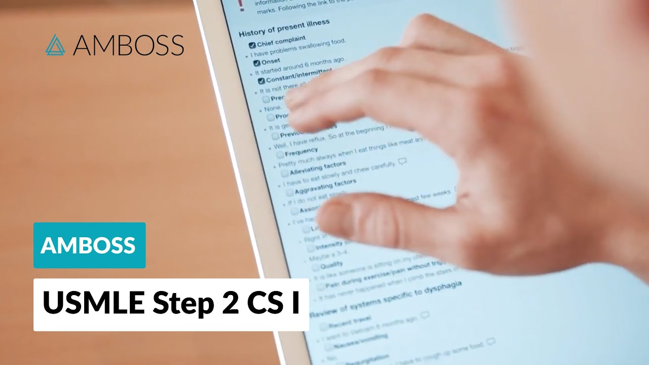 AMBOSS: USMLE Step 2 CS Physical Examination