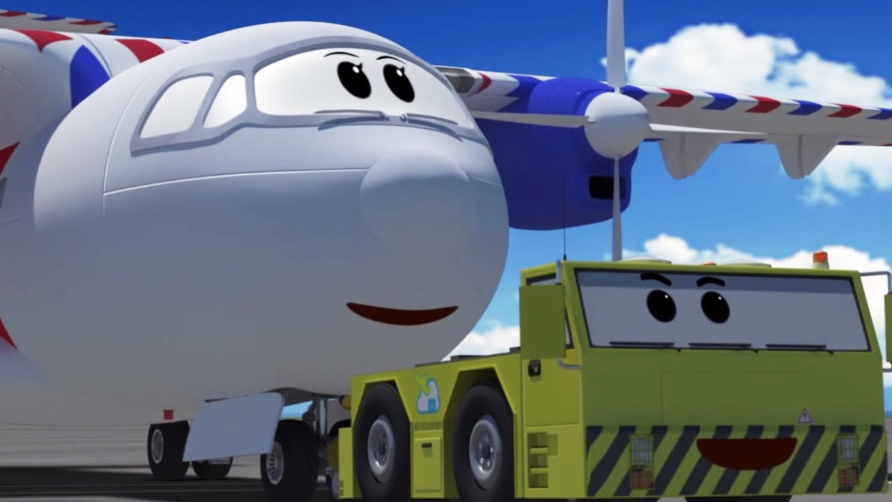 cartoons for children the airport diary the model of fluffy rh youtube com cartoon airport night cartoon airport night