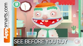 Toca Kitchen 2 By Toca Boca (boiled Bread, Corn Juice And Fish Smoothie) - App Demo/gameplay