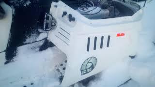 Тайга Патруль 551 SWT боится снега