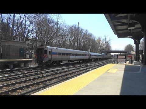 (Amtrak/MARC Test Train) Metro North & Amtrak Saturday Railfanning at Philipse Manor