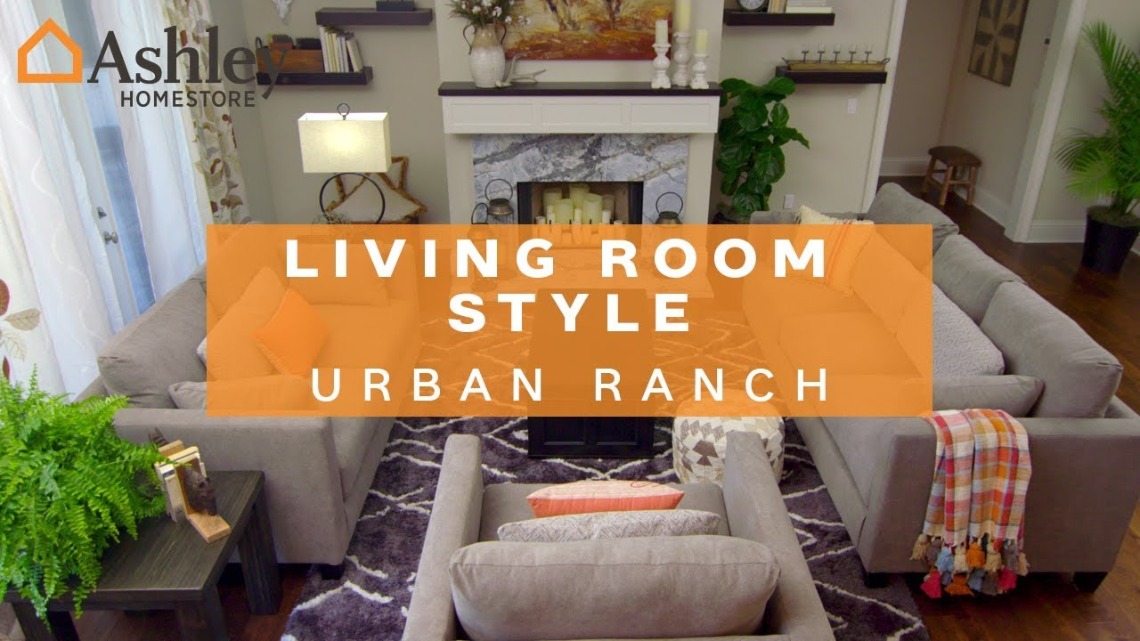 Ashley HomeStore | Living Room Style: Urban Ranch on stone building designs, bungalow designs, front porch designs, ranch homes with sunrooms, farmhouse designs, ranch modular homes, ranch photography, indian modern house designs, studio apartment designs, gable house designs, ranch dream homes, townhome designs, ranch front porch landscaping, ranch fashion, fixer upper designs, ranch homes with porches, shotgun house designs, ranch luxury homes, ranch log homes, concrete homes designs,