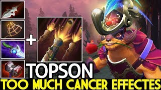 TOPSON [Pangolier] Absolutely Crazy Plays Cancer Effectes 7.23 Dota 2