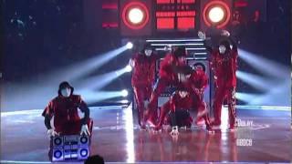 Jabawockeez - Devastating Stereo - ABDC6 Finale - in HD before 2011 MTV Movie Awards