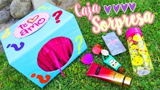 CAJA SORPRESA INFINITA !! ❤ IDEA SUPER FACIL Y ORIGINAL -TUTORIAL // MARIANA LUGO