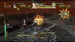 Eternal Sonata PS3 - Lament Mirror Dungeon + Crescendo and Serenade Gameplay