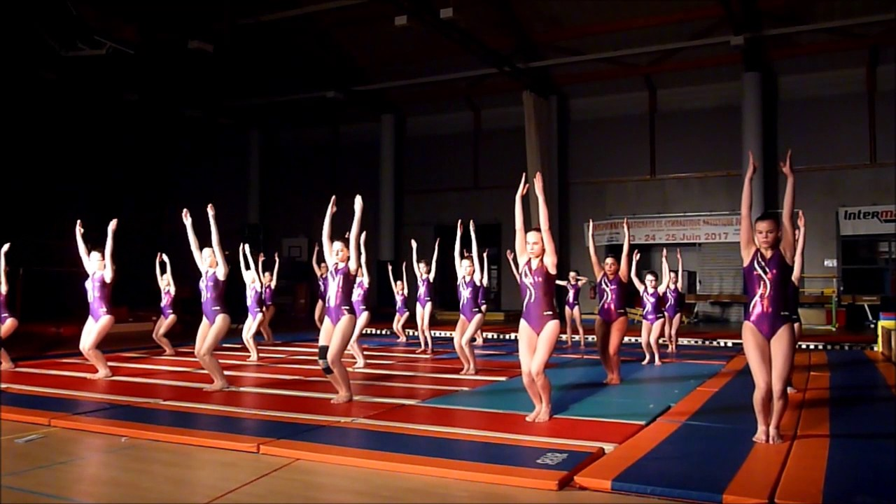 musique gymnastique sol rythme,