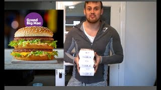 connectYoutube - THE GRAND BIG MAC CHALLENGE! Trying to beat last years big mac time