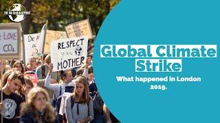 Global Climate Strike, London 20th September 2019