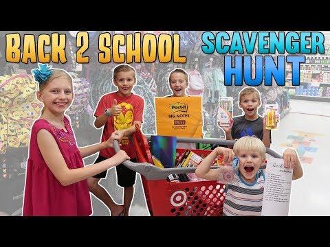 Christmas scavenger hunt ideas for school