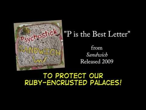 P is the Best Letter + LYRICS [Official] by PSYCHOSTICK