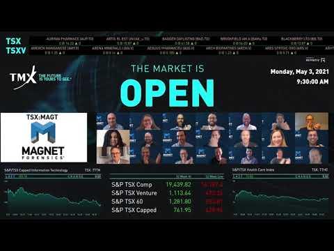 磁体取证实际上打开了市场