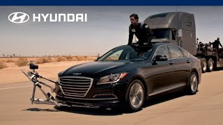 2015 Hyundai Genesis Empty Car Convoy Hyundai Canada смотреть