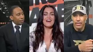 Lavar Ball Shoots His Shot At Molly Qerim & TRASHES Lakers Claiming HE WANTED Lonzo in Nola!
