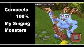 Cornocelo 100% Procriação My singing monsters