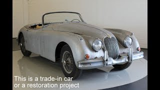 Jaguar XK150 OTS Matching Numbers - VIDEO - www.ERclassics.com