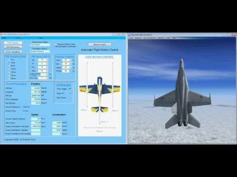 3 DOF Motion Platform Testing Demonstration