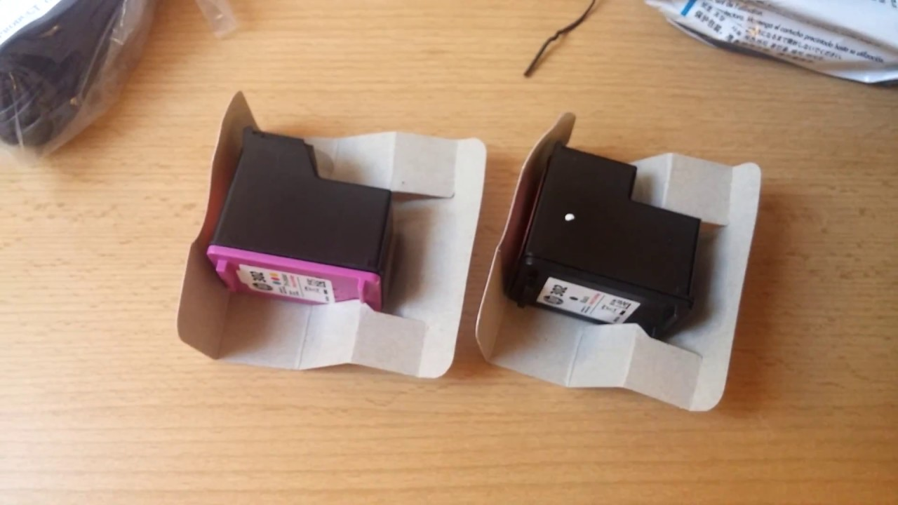 Hp Officejet 3830 Unboxing And Set Up P2 Youtube